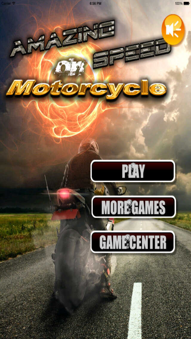 Amazing Speed On Motorcycle - Extreme Speed Amazing Biker screenshot 1