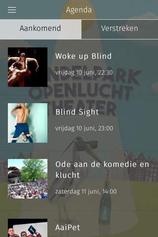 Openluchttheater Vondelpark - náhled