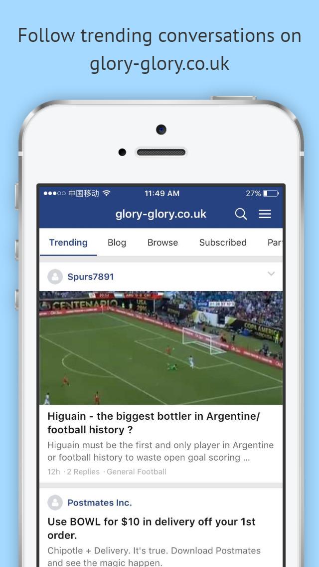 glory-glory.co.uk screenshot 1
