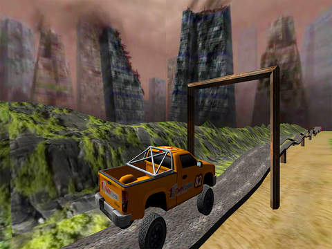 Monster Truck Racing: Up Hill Climb Race 4x4 Free screenshot 8