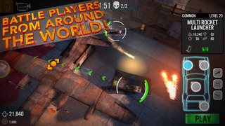 Auto Warriors - Tactical Car Combat screenshot 4