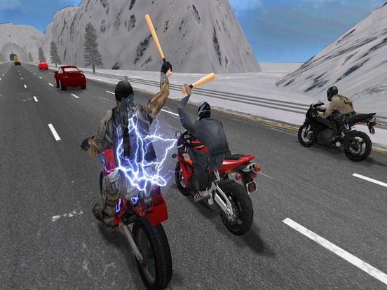 Moto Bike Road Rush : Figh-t Atta-ck Race 3d screenshot 7
