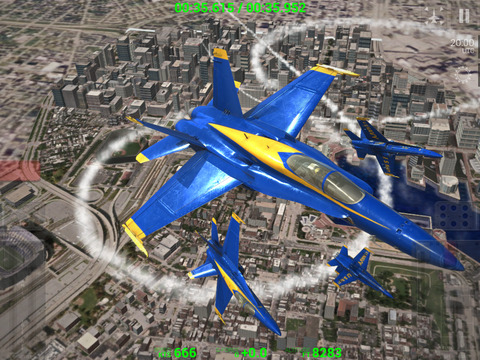 Blue Angels: Aerobatic Flight Simulator screenshot 10