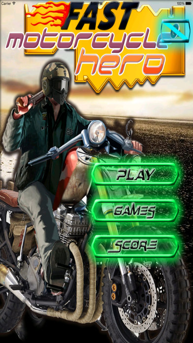 Fast Motorcycle Hero PRO - Highway Ride Amazing screenshot 1