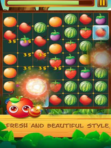 Fruit Star Crush - Match Free screenshot 6