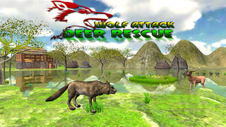 Wolf Attack - Deer Rescue screenshot 1