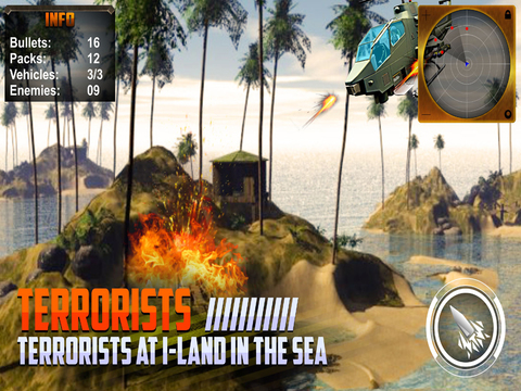 Helicopter Air Strike 3D screenshot 8