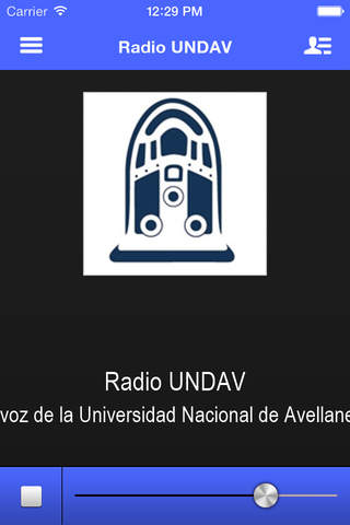 Radio UNDAV - náhled