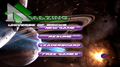 Amazing Universe Of Bricks - World Game screenshot 1