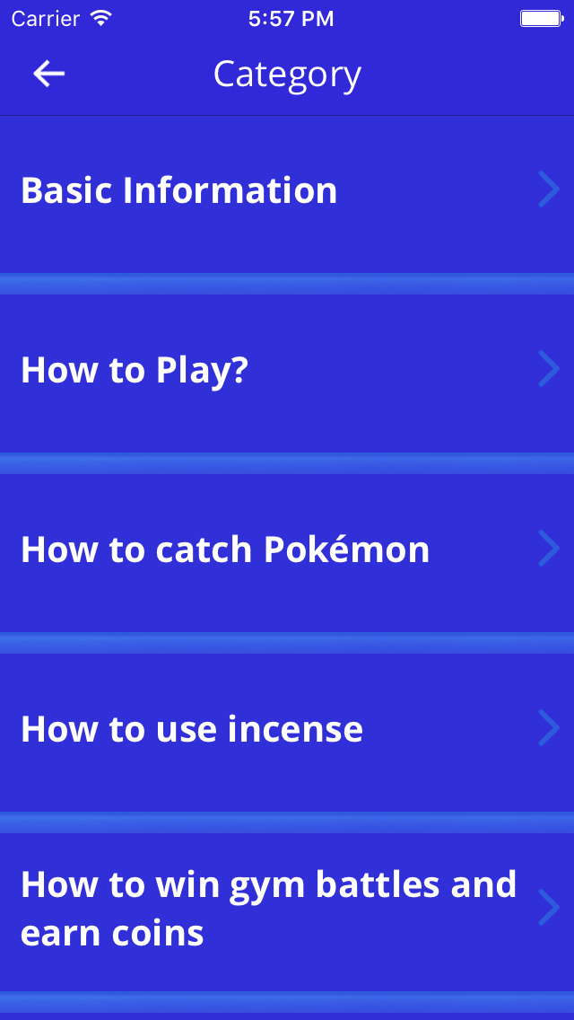 Reference Guide for Pokémon Go App & Game: Tips, Tricks & How to Play Guide! screenshot 2