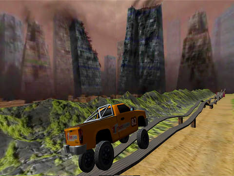 Crazy Extreme Monster Truck Pro screenshot 9