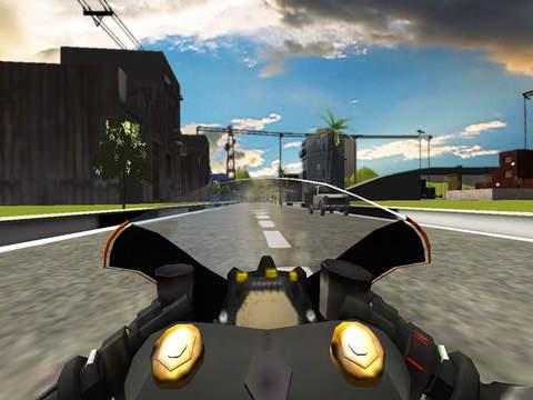 Highway Bike Rider : Moto Stunt Race screenshot 10