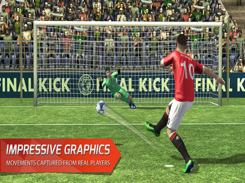 Final Kick VR - Virtual Reality free soccer game for Google Cardboard screenshot 6