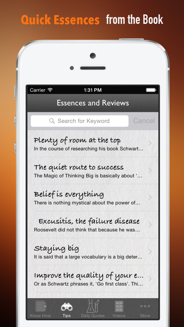 The Magic of Thinking Big: Practical Guide Cards with Key Insights and Daily Inspiration screenshot 3