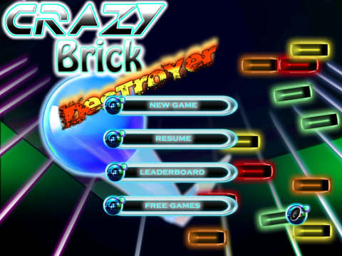 Crazy Brick Destroyer Pro - Classic Awesome Breaker screenshot 6