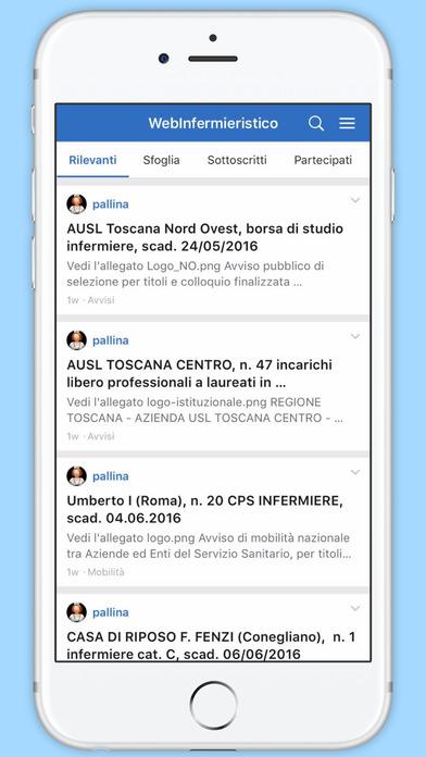 WebInfermieristico screenshot 1