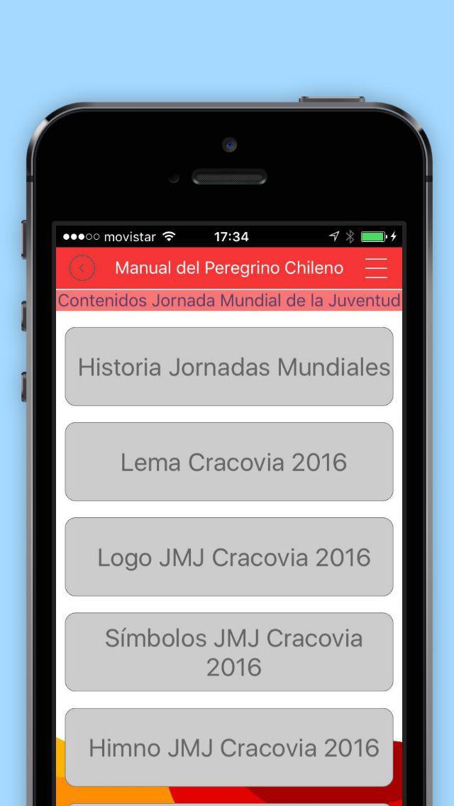 Manual del Peregrino Chileno screenshot 4