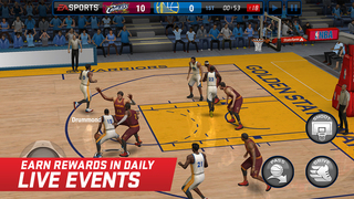 NBA LIVE Mobile Basketball screenshot #2