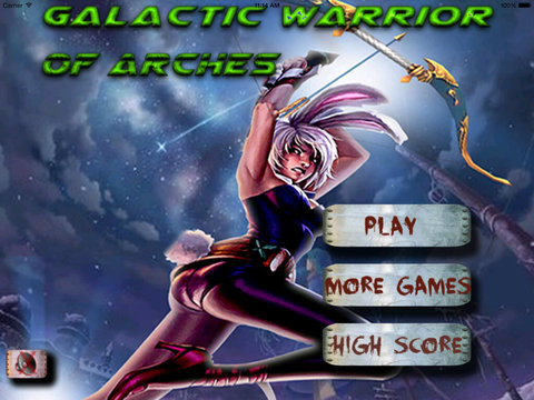 Galactic Warrior Of Arches - Archer Game Veloz screenshot 6