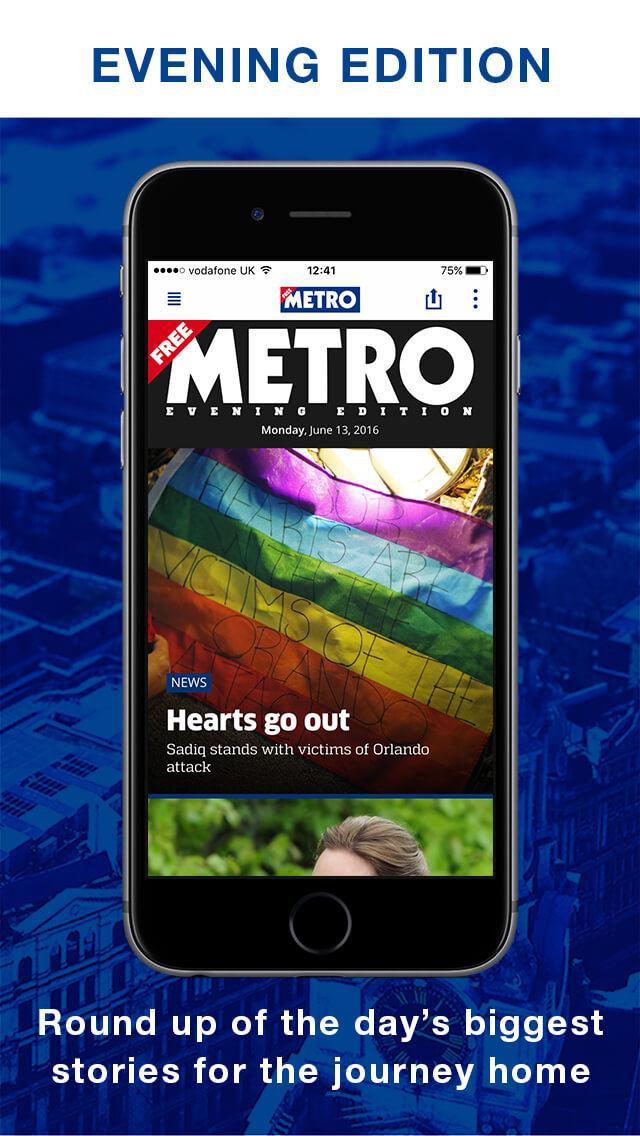 Metro Newspaper screenshot 2