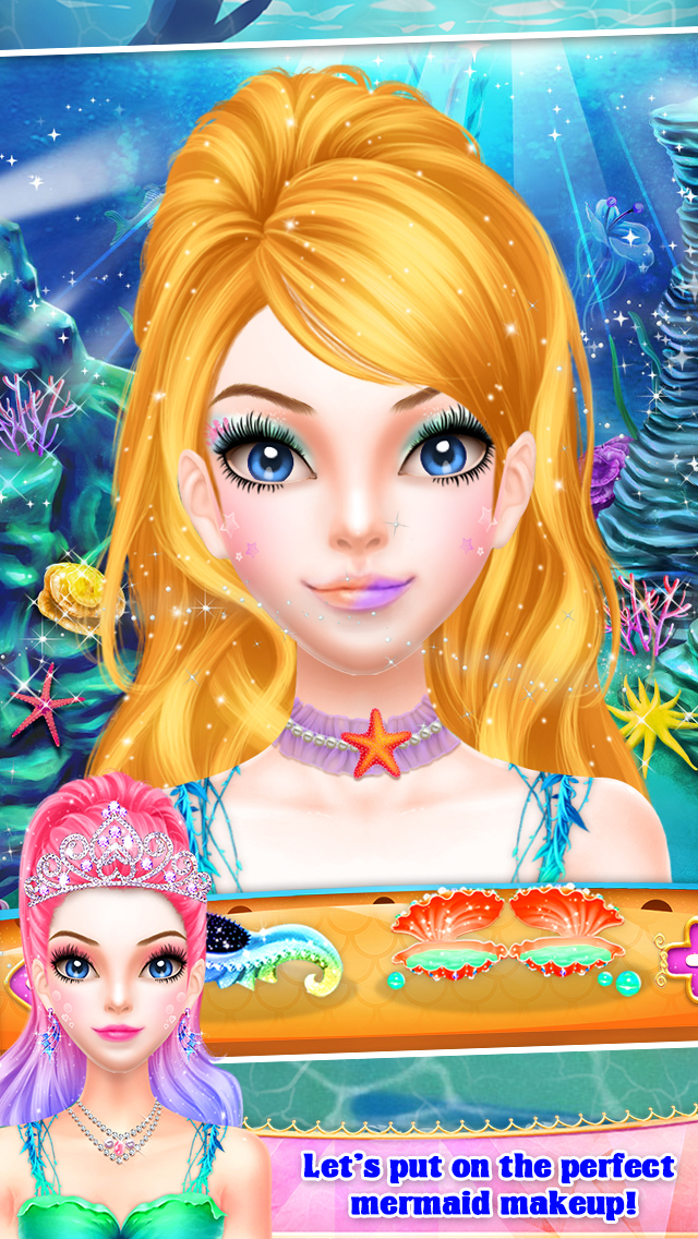 Mermaid Princess Spa & Dressup screenshot 3
