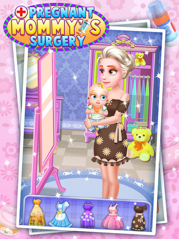Pregnant Mommy's Surgery - Caesarean Simulator Doctor Game FOR FREE screenshot 10
