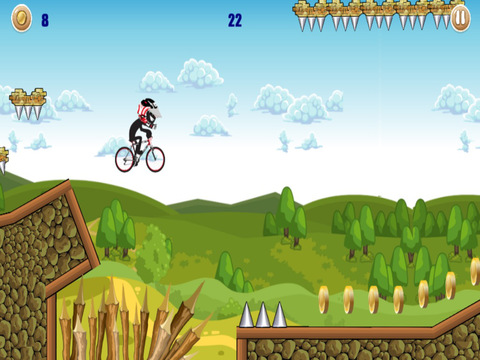 BMX Stickman Race - eXtreme Freestyle Racing & Crazy Stunts Games screenshot 7