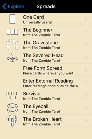 Zombie Tarot - náhled