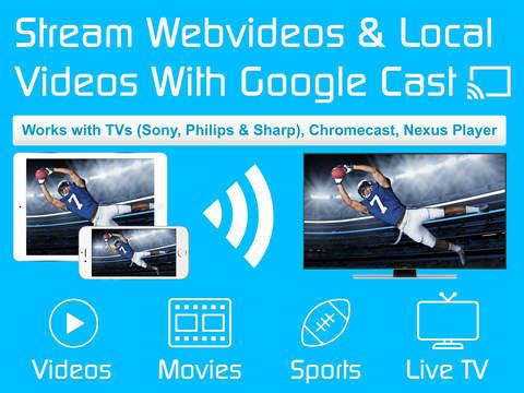 Video & TV Cast + Google Cast screenshot 6
