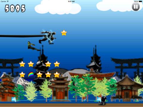 Amazing Shadow Ninja Pro - God of War Thunder And Revenge Fighters screenshot 10