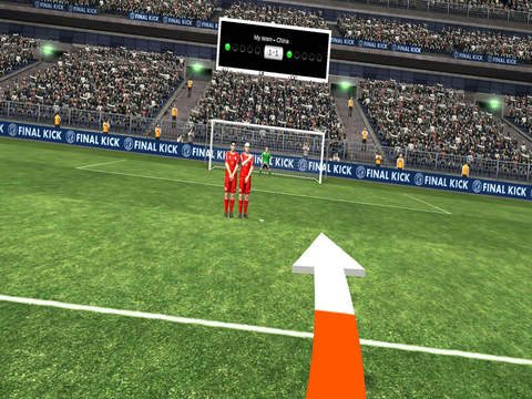 Final Kick VR - Virtual Reality free soccer game for Google Cardboard screenshot 7