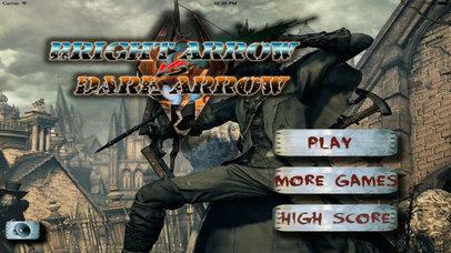 Bright Arrow Vs Dark Arrow - Long Arrows Games screenshot 1