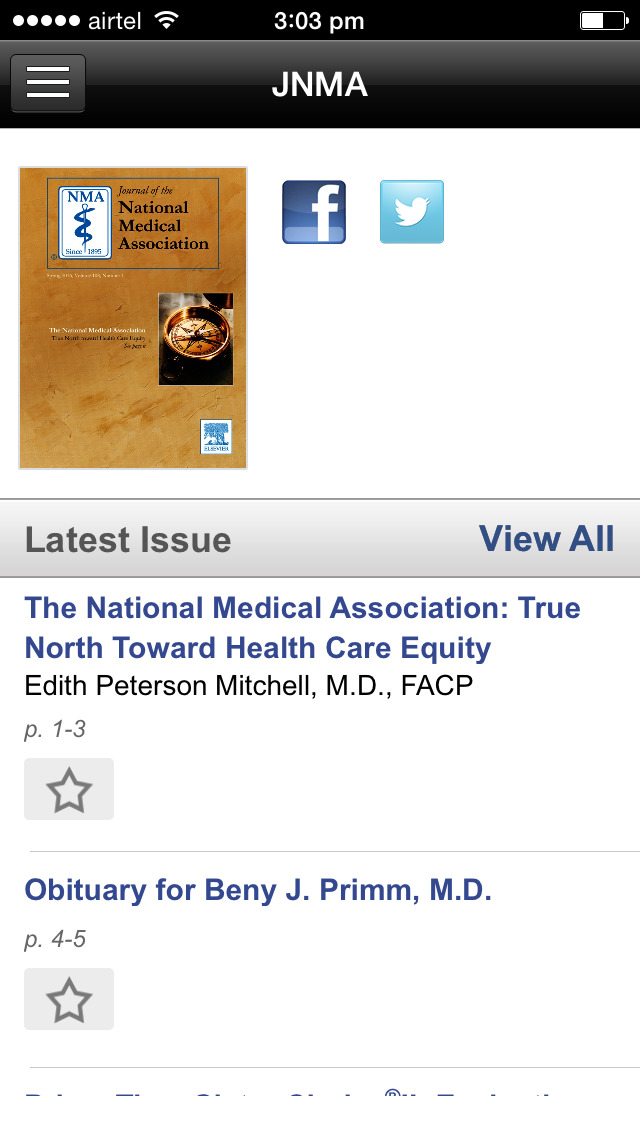 Journal of the National Medical Association screenshot 2