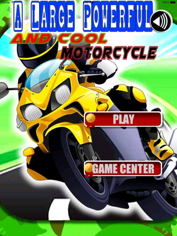A Large Powerful And Cool Motorcycle PRO-Fast Game screenshot 6