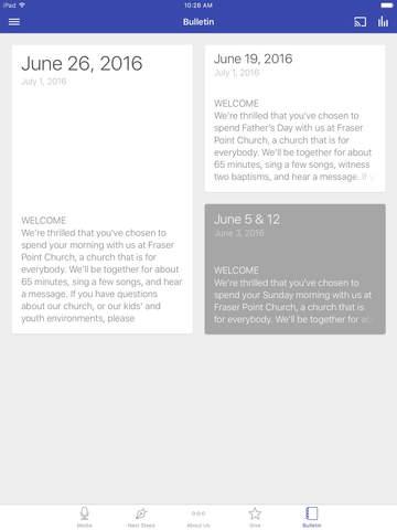 Fraser Point Church screenshot 6