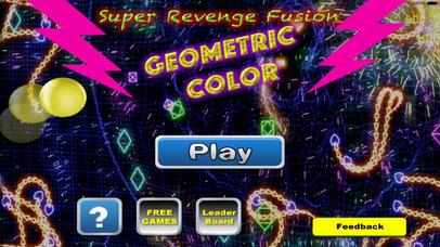 Super Revenge Fusion Geometric Color - True Geometric War Is About To Begin screenshot 1