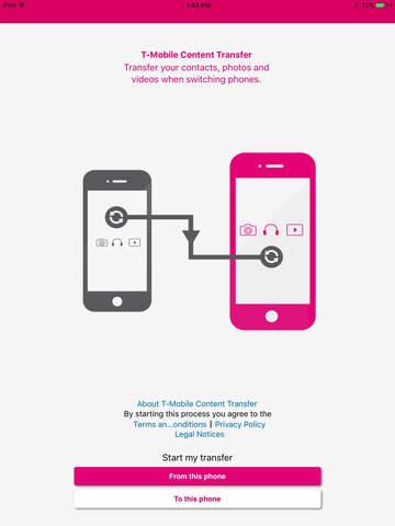 T-Mobile Content Transfer screenshot 5