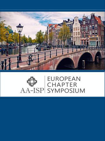 AA-ISP European Symposium screenshot 4