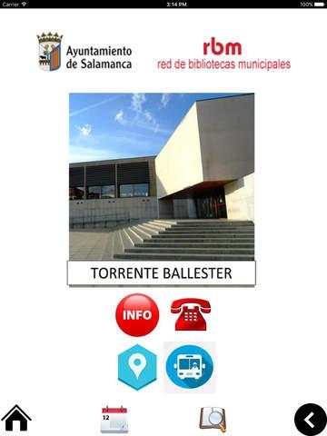 Bibliotecas Municipales Salamanca screenshot 8