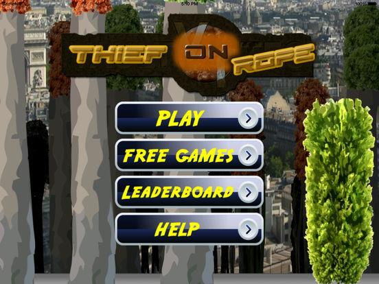 A Thief On Rope Pro - Amazing Fly From ALi Bba screenshot 6