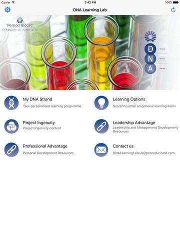 DNA Learning Lab - náhled