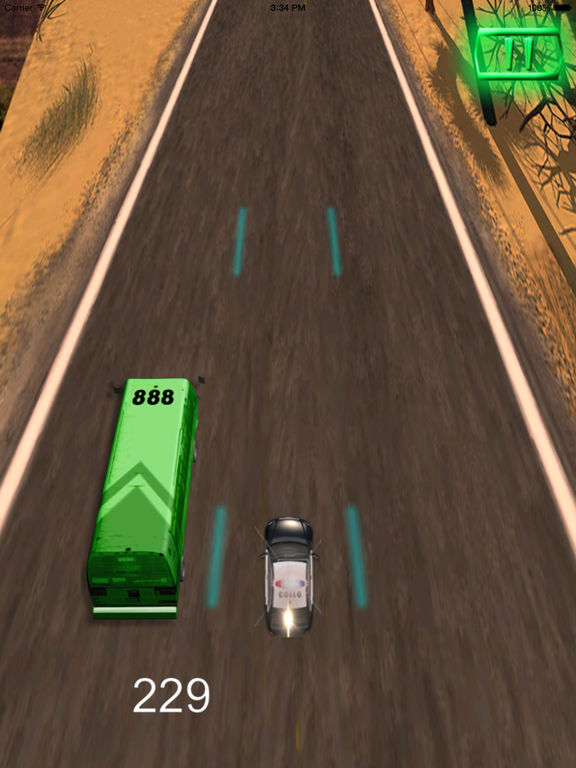A Driving Fast Police Pro - Racing Hovercar Game screenshot 10