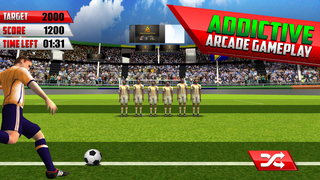 Final Soccer Flick : Free Penalty Kick screenshot 2