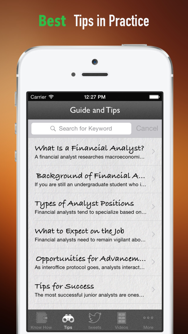 Financial Analyst for Beginners:Tips and Tutorial screenshot 4