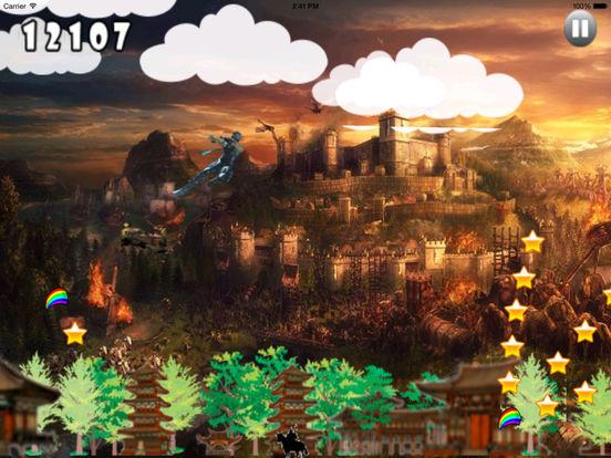 Clan Dark Jumping - Samurai Adventure Game screenshot 9