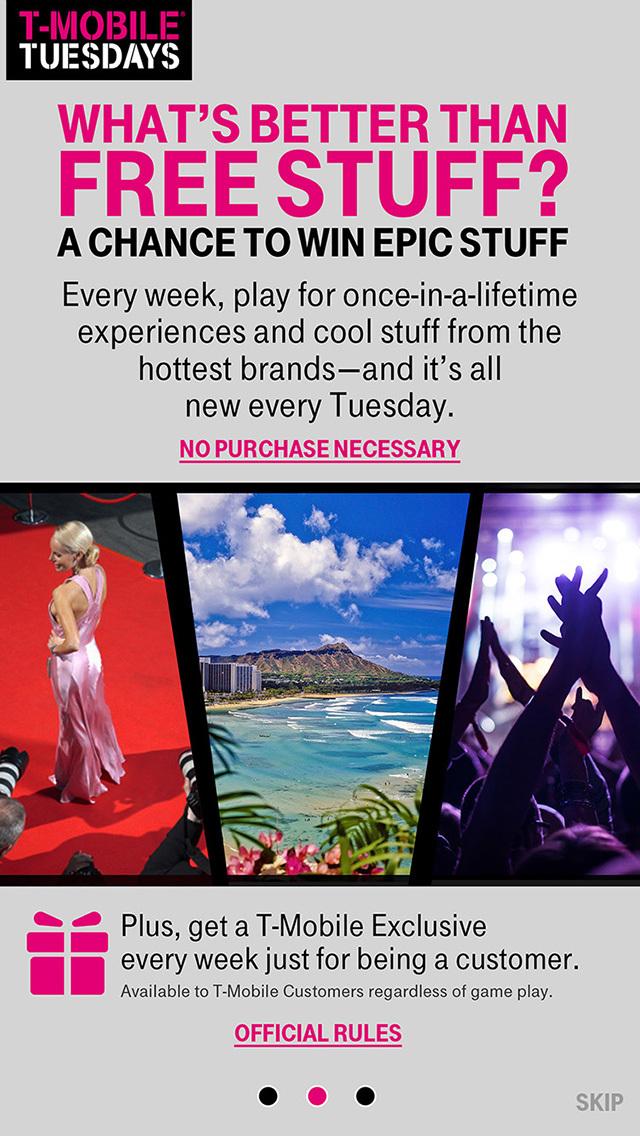 T-Mobile Tuesdays screenshot 5