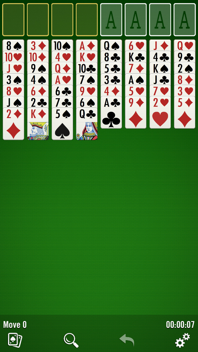 FreeCell from Windows screenshot 1