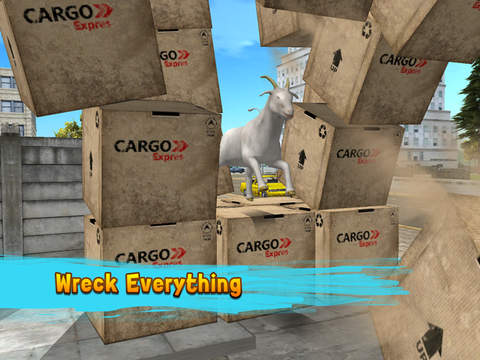 City Goat: Animal Survival Simulator 3D screenshot 6