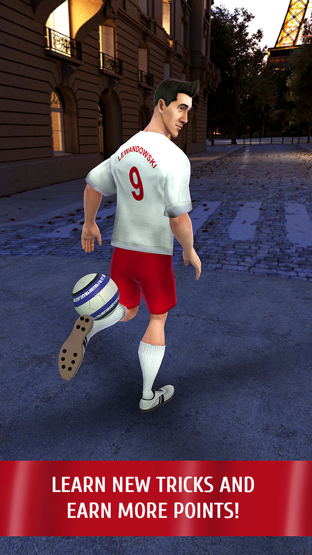 Lewandowski: Football Star screenshot 3