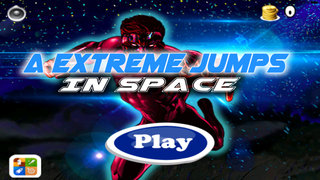 A Extreme Jumps In Space - Super Cool Jumping Game screenshot 1
